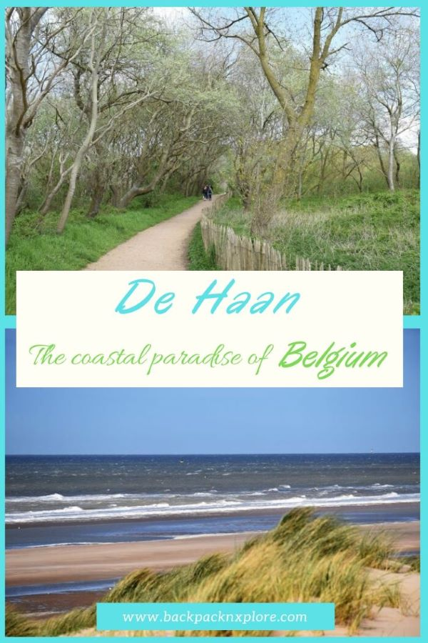 A travelogue of De Haan Beach and Woodlands in Belgium. A day spent in the peaceful coastal countryside of De Haan was an unplanned gift on our Europe Trip. #Belgium #Offbeattravel