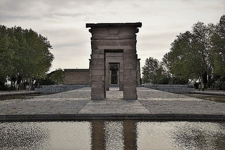 Egyptian Temple of Debod - Madrid