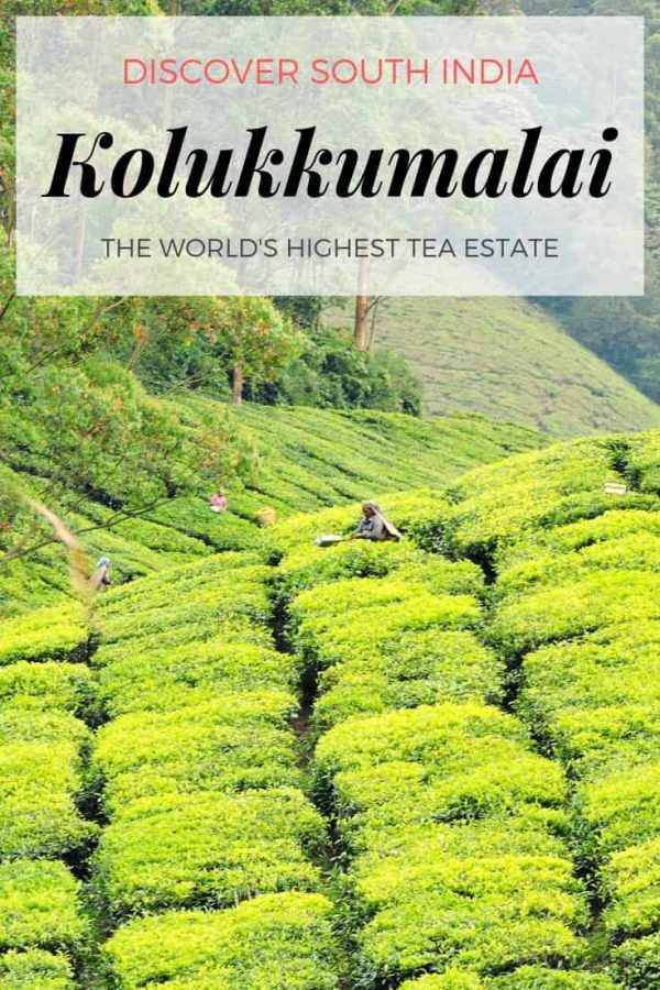 Discover Kolukkumalai Tea Estate - the highest tea garden in the world. At the border of Tamil Nadu and Kerala lies this lush green paradise. Route guidelines, where to stay, what to do and all the valuable information you need along with a short narrative of our two trips to Kolukkumalai