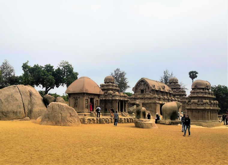 Mahabalipuram Trip - Pancha Rathas|South India destinations