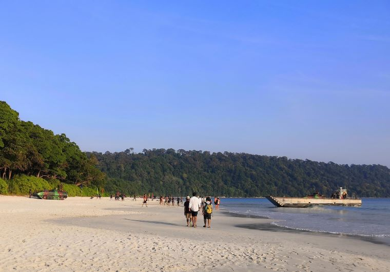 Radhanagar Beach , Andaman Travel Blog