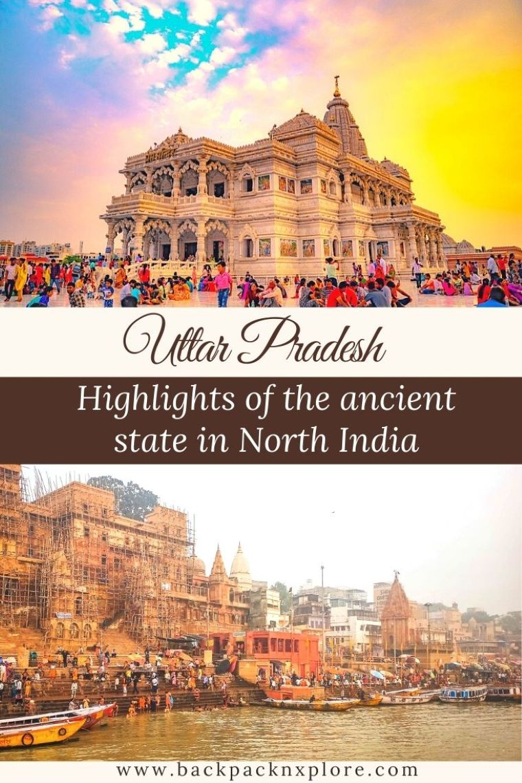 click to read about the best places to visit in Uttar Pradesh. It's one of the largest states of India and the most populous. Besides the exquisite wonder of the world - Taj Mahal, Uttar Pradesh is home to some of the ancient heritage sites, places of great religious and historic significance and offbeat natural gems. #incredibleindia #travel